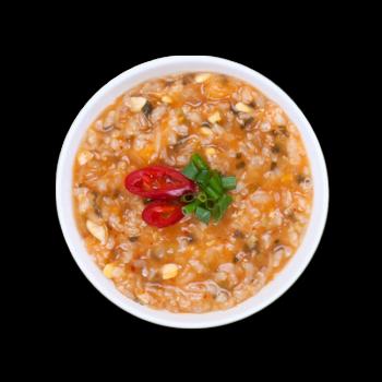 쌀눈 김치콩나물죽