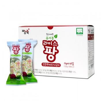 유기농 라이스팡 야채맛 1BOX-10개입