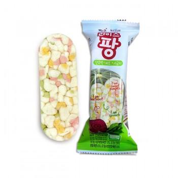 유기농 라이스팡 야채맛(단호박/비트/시금치)