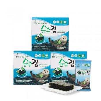 어린이 유기농 순수김 3box
