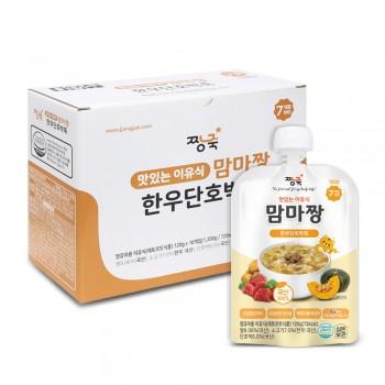 맘마짱 이유식 죽 1박스 (10봉)